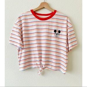 Disney Mickey Mouse Crop Shirt